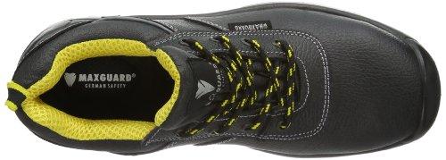 Maxguard Chris, Chaussures de Sécurité Mixte Adulte Noir (schwarz)