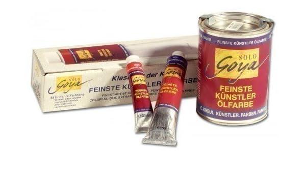 69853ab61a Kreul 33544 - Solo Goya Feinste Künstlerölfarben, 55 ml Tube, brauner lack  gelblich: Amazon.de: Spielzeug