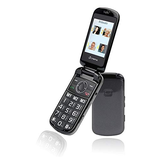 Olympia Großtasten Mobiltelefon Brava Plus inkl. Ladestation (Klapp-Handy) Klapp-handy