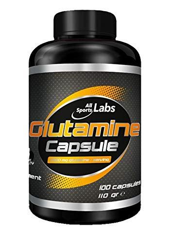 All sports Lab Glutamine 100 Kapseln -