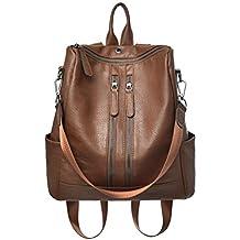 mochila de cuero olsos de Hombro bolsa de mano de moda para mujer