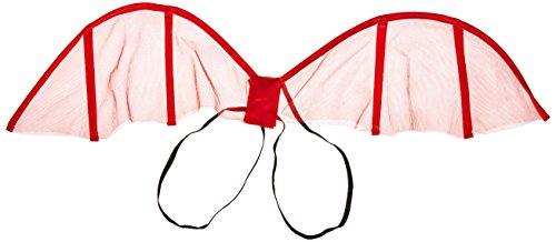 Smiffys 23189 - Mini Teufel Flügel, rot