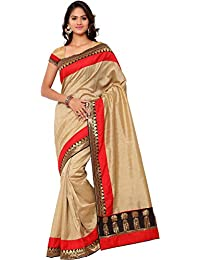 EthnicJunction Women's Art Silk Saree With Blouse
