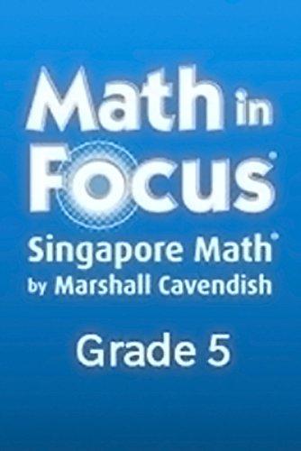 Math in Focus Reteach Workbook, Book A Grade 5