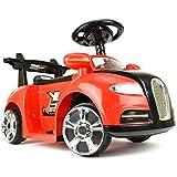 """Coche para los niños - coche eléctrico """"BGT"""" - Ride-6V del motor - con música, control remoto, faros"""