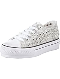 111617462SP, Sneaker Donna, Argento, 41 EU Prima Donna