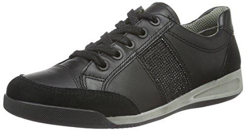 Ara 12-34453-21, Chaussures à Lacets Femme Noir (01)