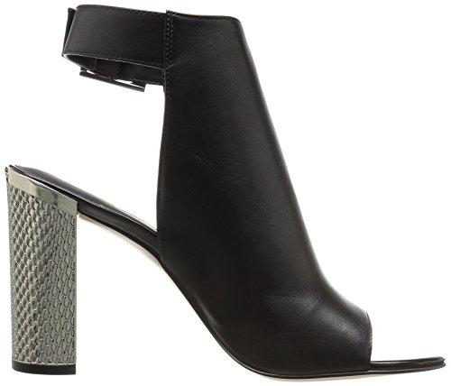 Calvin Klein Norah Femmes Cuir Sandale Black