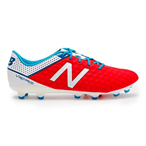 New Balance Visaro Pro FG Fußballschuh Herren rot / weiß / blau