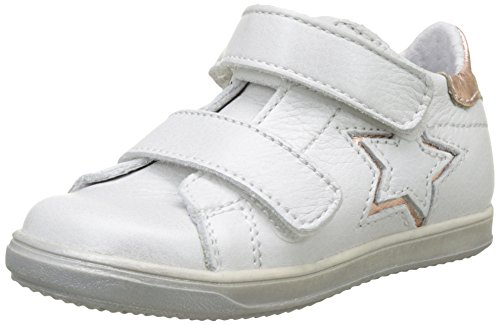 Little Mary Baby Mädchen Betty Sneaker Weiß (Soft Blanc+nude)
