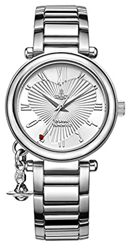 Vivienne Westwood Women's Orb Quartz Watch with Silver Dial Analogue