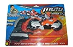 Blossom Moto Trigger Launched Speed Toy with Launcher best gift toy for kids which stimulates concentration power,eye co-ordination and thinking ability of kids.The Stylish Moto gun set includes trigger to give speed to bike.New super power street ri...