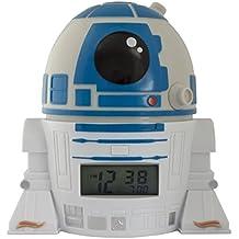 BulbBotz Despertador Infantil R2D2, Blanco, 8.89x12.7x13.97 cm