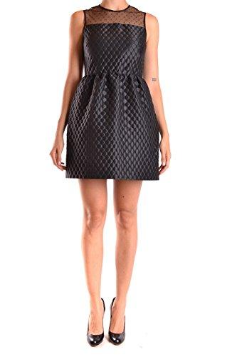 Red Valentino Damen Lr3va2v02gg0no Schwarz Polyester Kleid