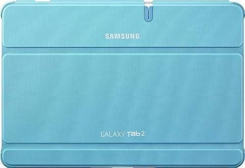 Samsung Original Diarytasche (Flipcover) im Buchdesign EFC-1H8SLECSTD (kompatibel mit Galaxy Tab 2 10.1) in capri
