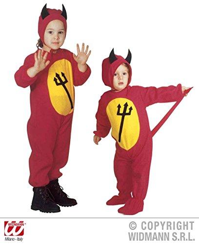 KINDERKOSTÜM - LITTLE DEVIL - Größe (Halloween Kostüme Jungen Teufel Für)