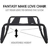 DAYAN Erotic Toys Multi Function Chaise Mobilier de Sexe Chaise Chaise En Sexe Élastique , black