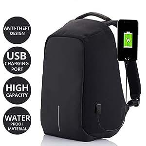 AllExtreme EX-102 14-inch Anti Theft Laptop Bag (Black)