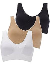 Air Bra For Women Combo Free Size Black; White; Beige
