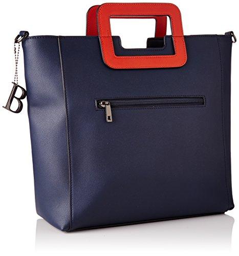 Bulaggi - Redon Shopper, cartella Donna Blu (Dunkel Blau)