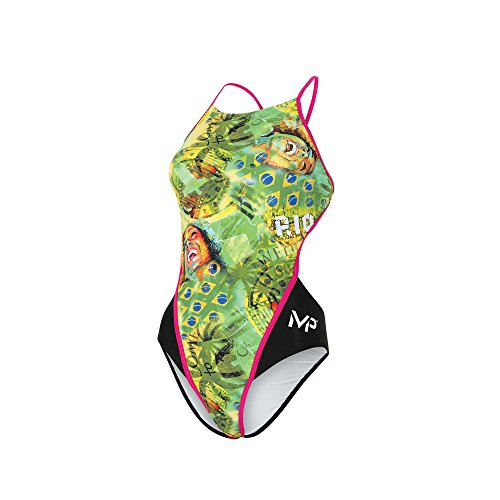 MP Michael Phelps Herren Multicoloured, Black