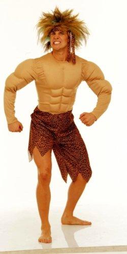 KOSTÜM -JUNGLE MAN- GRÖSSE M/L (50/52) (Jungle Man Kostüm)
