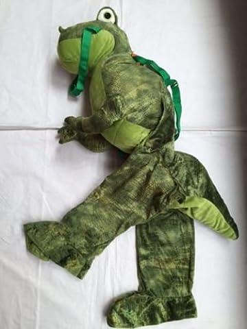 Childrens Dinosaur Dressing Up Costume - T-Rex Dinosaur fancy dress costume 3-7 years by Play & Pretend