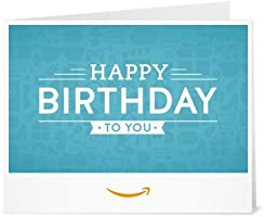 Birthday Icons - Printable Amazon.co.uk Gift Voucher