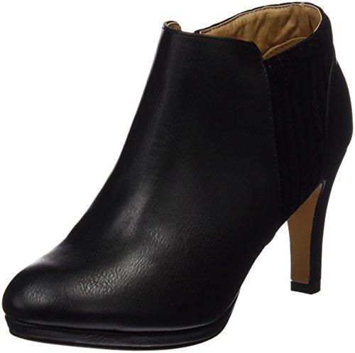Maria Mare Damen Basic Calzado Señora Geschlossene Schuhe mit Absatz NAPAL NEGRO / PEACH NEGRO