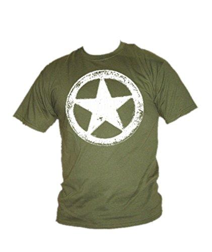 Blue Ray T-Shirts Herren T-Shirt Military Green