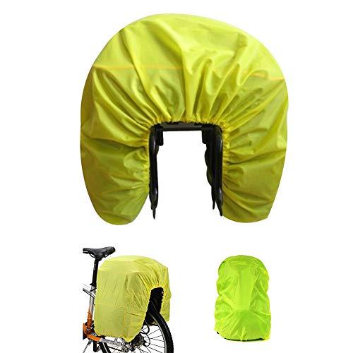 AUVSTAR Funda impermeable para asiento trasero de bicicleta, funda impermeable para bolsas de viaje, bolsa para maletero, bolsa para mochila, bolsa de equipaje y alforja