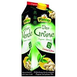 Pfanner Grüner Tee Ingwer-Zitrone, 6er Pack (6 x 2l)