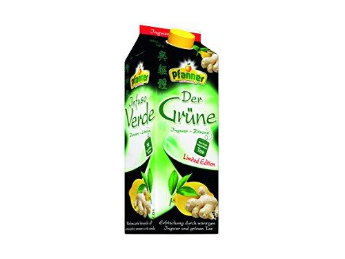 Ingwer Grüner Tee (Pfanner Grüner Tee Ingwer-Zitrone, 6er Pack (6 x 2l))