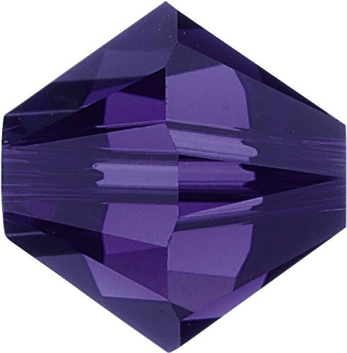 Original Swarovski Elements Beads 5328 MM 5,0 - Tanzanite AB (539 AB) ; Diameter in mm: 5 ; Packing Unit: 720 pcs. Purple Velvet (277)