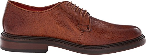 Base London Collo Basso Uomo Scotch Grain Tan-Derby