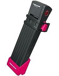 Faltschloss Trelock TWO.GO L mit Halter FS200/100 pink m.Halter ZF200,Schlüssel