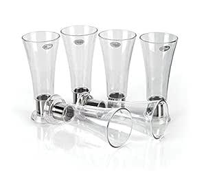 Ritu Unbreakable Glass Set Of 6Pcs
