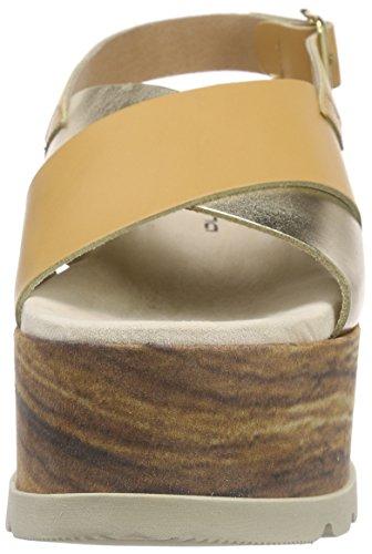 Fornarina Atena Damen Slingback Beige (Camel 200)