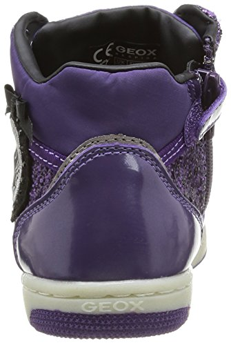 Geox Jr Creamy, Baskets mode fille Violet (Violet)