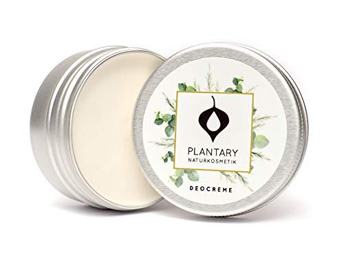 """Plantary Deo Creme ohne Aluminium 30ml vegan bio, Unisex-Duft für Damen und Herren, Deocreme für die Familie, Bio Naturkosmetik mit der Zaubernuss, DERMA TEST""""SEHR GUT"""""""
