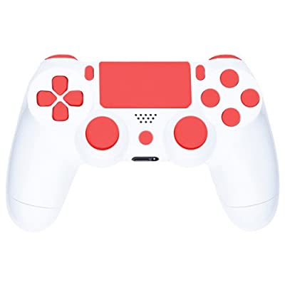 Playstation 4 Custom Controller -Arctic Red