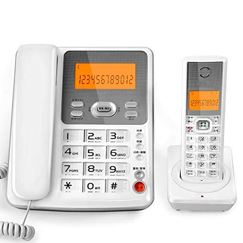 Yingying Kabelloses Telefon Telefon Business digital Schnurloses Telefon Mutter Maschine Platz Festnetz Festes Telefon Alter Mann Maschine (Farbe : B) -