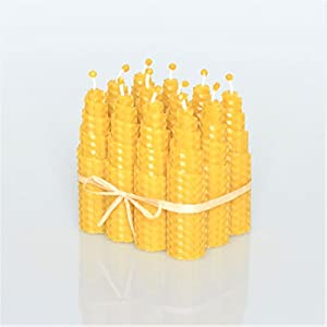 100% Reines Bienenwachskerzen Se