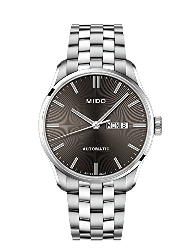Mido Men's Belluna II 42.5mm Steel Bracelet Automatic Watch M024.630.11.061.00