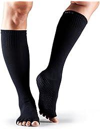 1 Paire Scrunch moitié Toe coton biologique genou de ToeSox femmes Chaussettes