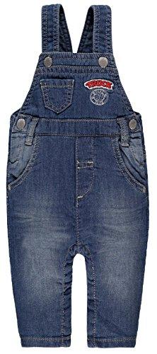Kanz Jungen leichte Jeans Latzhose , Präzise Farbe:Blau, Größe:92