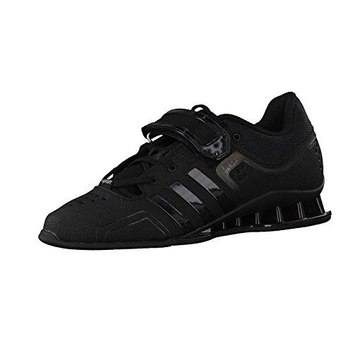 adidas Unisex-Erwachsene Adipower Weightlifting Fitnessschuhe, Schwarz (Core Black/Night Met. F13/Silver Met. 001), 46 2/3 EU (Schuhe Cross Adidas Training)
