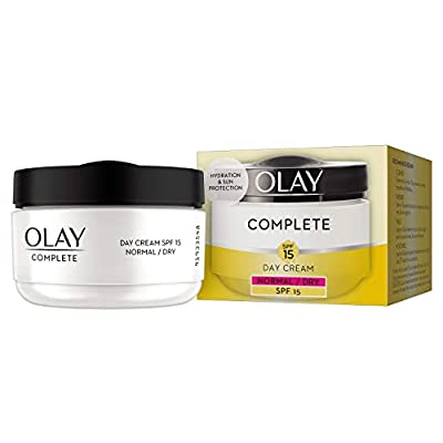 Olay 3-in-1 Complete Care Moisturiser Day Cream SPF15 for Normal/Dry Skin, 50 ml