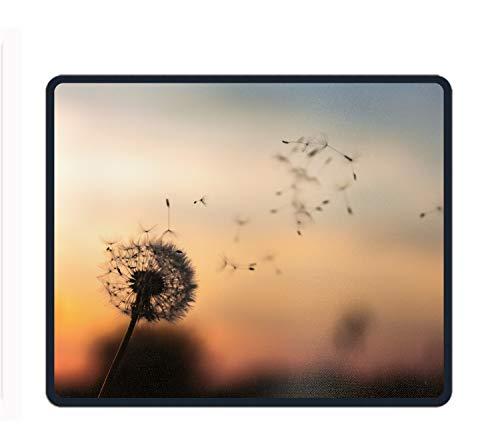 Mauspad mit Handgelenkstütze und Rutschfester Tastatur für Computer, Laptop, Mac, Gaming und Büro – langlebig und bequem für einfaches Tippen und Schmerzlinderung, Löwenzahn, ()