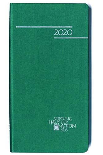 365 mal Gottes Wort 2020: Kalender 2020 in Feinleinenstruktur, grün